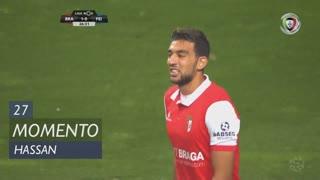SC Braga, Jogada, Hassan aos 27'