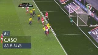 SC Braga, Caso, Raúl Silva aos 64'