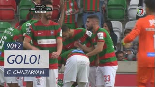 GOLO! Marítimo M., G. Ghazaryan aos 90'+2', Marítimo M. 2-1 Sporting CP