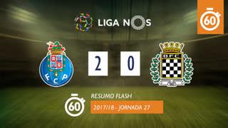 Liga NOS (27ªJ): Resumo Flash FC Porto 2-0 Boavista FC