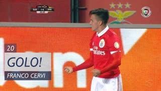 GOLO! SL Benfica, F. Cervi aos 20', SL Benfica 1-0 FC P.Ferreira