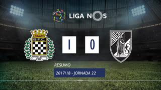 Liga NOS (22ªJ): Resumo Boavista FC 1-0 Vitória SC