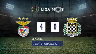 Liga NOS (23ªJ): Resumo SL Benfica 4-0 Boavista FC