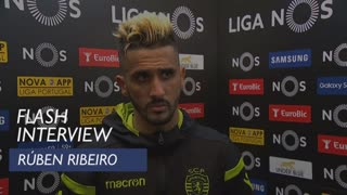 Liga (26ª): Flash interview Rúben Ribeiro