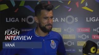 Liga (34ª): Flash interview Vaná