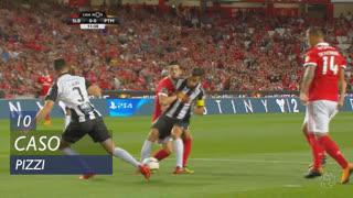 SL Benfica, Caso, Pizzi aos 10'