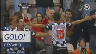 GOLO! Boavista FC, Fábio Espinho aos 74', Boavista FC 2-1 SL Benfica