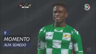 Moreirense FC, Jogada, Alfa Semedo Esteves aos 9'