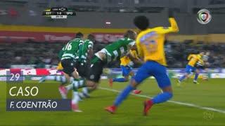 Sporting CP, Caso, Fábio Coentrão aos 29'