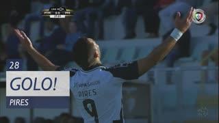GOLO! Portimonense, Pires aos 28', Portimonense 1-0 FC P.Ferreira