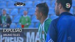 Rio Ave FC, Expulsão, Bruno Teles aos 54'