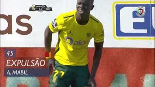FC P.Ferreira, Expulsão, A. Mabil aos 45'