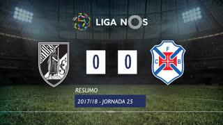 Liga NOS (25ªJ): Resumo Vitória SC 0-0 Belenenses