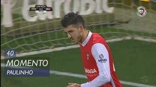 SC Braga, Jogada, Paulinho aos 40'