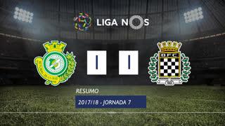 Liga NOS (7ªJ): Resumo Vitória FC 1-1 Boavista FC