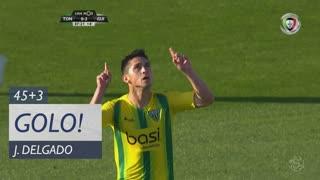 GOLO! CD Tondela, J. Delgado aos 45'+3', CD Tondela 1-2 Vitória SC