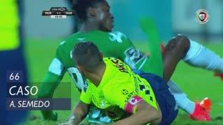 Moreirense FC, Caso, Alfa Semedo Esteves aos 66'