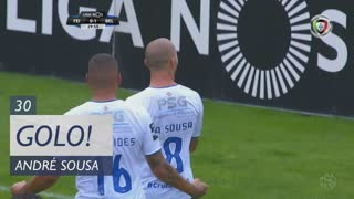 GOLO! Belenenses SAD, André Sousa aos 30', CD Feirense 0-2 Belenenses SAD