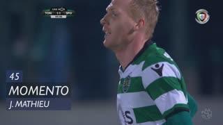 Sporting CP, Jogada, J. Mathieu aos 45'