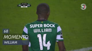 Sporting CP, Jogada, William aos 68'
