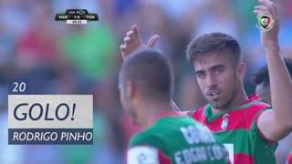 GOLO! Marítimo M., Rodrigo Pinho aos 20', Marítimo M. 1-0 CD Tondela