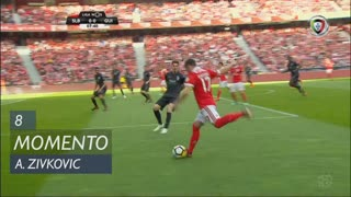 SL Benfica, Jogada, A. Zivkovic aos 8'