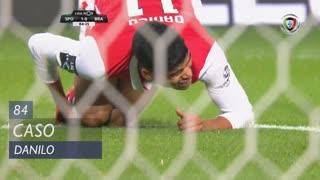 SC Braga, Caso, Danilo aos 84'