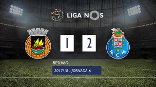 Liga NOS (6ªJ): Resumo Rio Ave FC 1-2 FC Porto