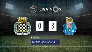 Liga NOS (10ªJ): Resumo Boavista FC 0-3 FC Porto