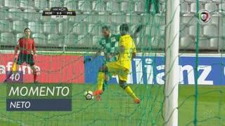 Moreirense FC, Jogada, Neto aos 40'