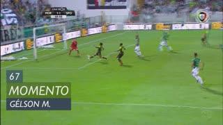 Sporting CP, Jogada, Gelson Martins aos 67'