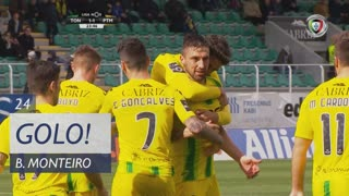 GOLO! CD Tondela, Bruno Monteiro aos 24', CD Tondela 1-1 Portimonense