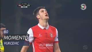 SC Braga, Jogada, Vukcevic aos 80'