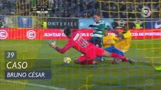 Sporting CP, Caso, Bruno César aos 39'