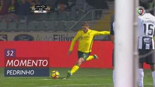 FC P.Ferreira, Jogada, Pedrinho aos 52'
