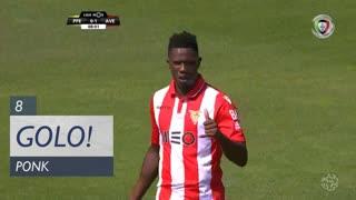 GOLO! CD Aves, Ponck aos 8', FC P.Ferreira 0-1 CD Aves