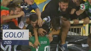 GOLO! Moreirense FC, Zizo aos 75', Estoril Praia 0-2 Moreirense FC