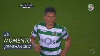 Sporting CP, Jogada, Jonathan Silva aos 56'