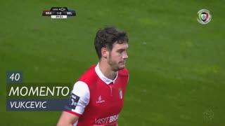 SC Braga, Jogada, Vukcevic aos 40'