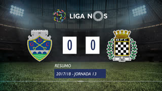 Liga NOS (13ªJ): Resumo GD Chaves 0-0 Boavista FC