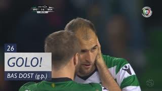 GOLO! Sporting CP, Bas Dost aos 26', Sporting CP 1-0 Boavista FC