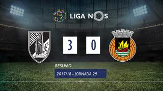 Liga NOS (29ªJ): Resumo Vitória SC 3-0 Rio Ave FC