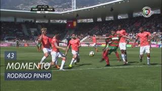 Marítimo M., Jogada, Rodrigo Pinho aos 43'