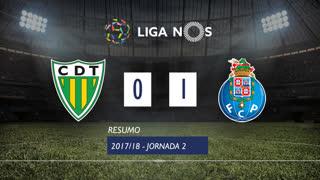 Liga NOS (2ªJ): Resumo CD Tondela 0-1 FC Porto