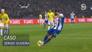 FC Porto, Caso, Sérgio Oliveira aos 71'