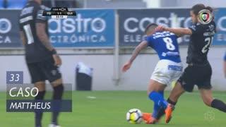 Vitória SC, Caso, Mattheus aos 33'