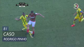 Marítimo M., Caso, Rodrigo Pinho aos 81'