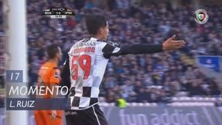 Boavista FC, Jogada, L. Ruiz aos 17'