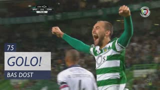 GOLO! Sporting CP, Bas Dost aos 75', Sporting CP 5-0 GD Chaves