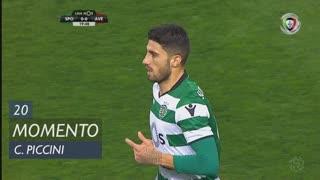 Sporting CP, Jogada, C. Piccini aos 20'